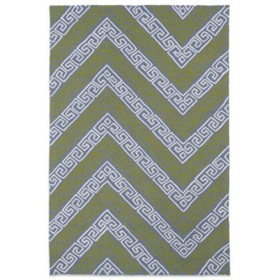 Kaleen Matira Key 2-Foot x 6-Foot Indoor/Outdoor Runner in Grey