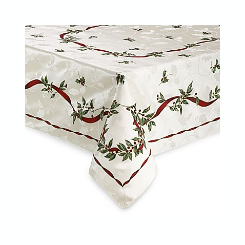 Buy Christmas Laurel Tablecloth From Bed Bath Amp Beyond
