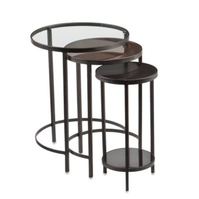 Holly & Martin Ocelle 3-Piece Nesting Table Set