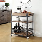 Verona Home Seymour Kitchen Rolling Serving Cart