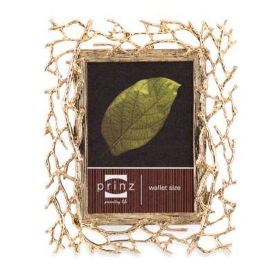 Prinz Whitman Gold Metal 2.5-Inch x 3.5-Inch Frame