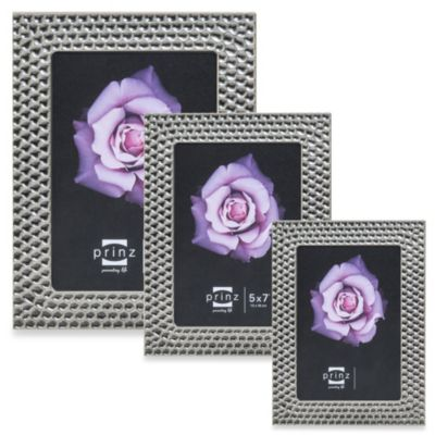 Prinz Lexington 8-Inch x 10-Inch Photo Frame in Pewter