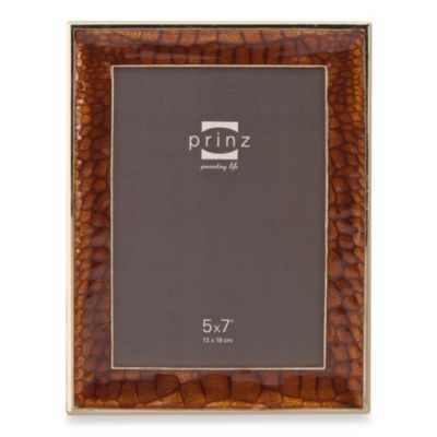 Prinz Capri 5-Inch x 7-Inch Photo Frame in Bronze