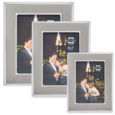 Prinz Manhattan 8-Inch x 10-Inch Photo Frame in Pewter