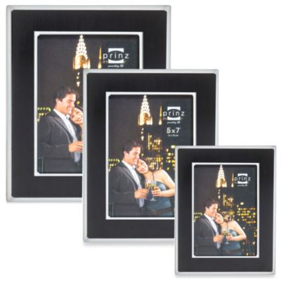 Prinz Manhattan 8-Inch x 10-Inch Photo Frame in Black