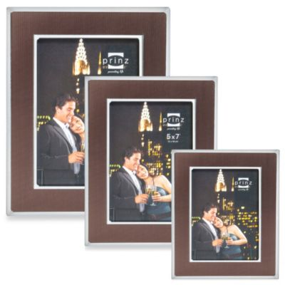 Prinz Manhattan 5-Inch x 7-Inch Photo Frame in Bronze