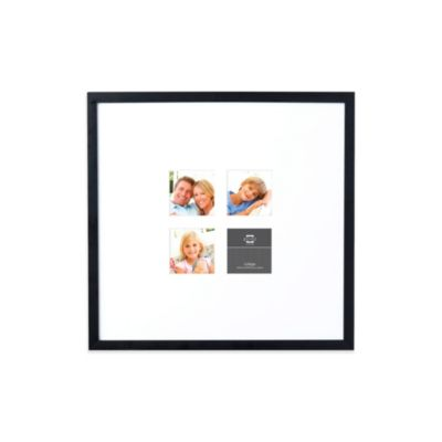 Prinz 19-Inch x 20-Inch Wide Mat to 4-Opening Gallery Expressions PS Frame