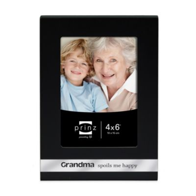 Prinz 4-Inch x 6-Inch Grandma Sentiments Frame