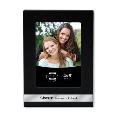 Prinz 4-Inch x 6-Inch Sister Sentiments Frame
