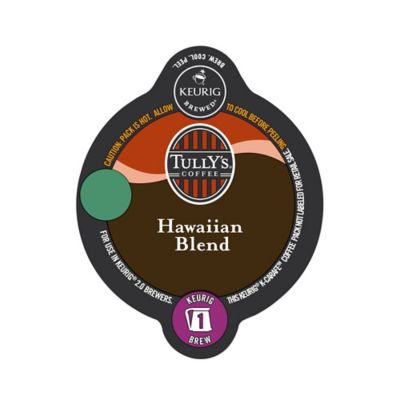 Keurig® K-Carafe™ Pack 8-Count Tully's® Hawaiian Blend Medium Roast Coffee