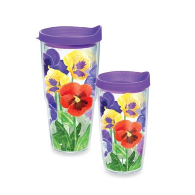 Tervis® Pansies 16 oz. Wrap Tumbler with Lid