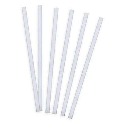 Tervis® 6-Pack 9-Inch Straight Drinking Straws in Clear
