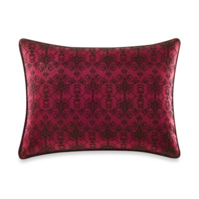 Tracy Porter® Willow Solid Faux-Silk Oblong Toss Pillow