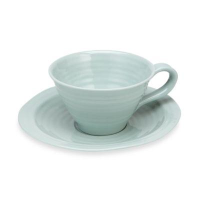 Sophie Conran for Portmeirion® Celadon Cup & Saucer