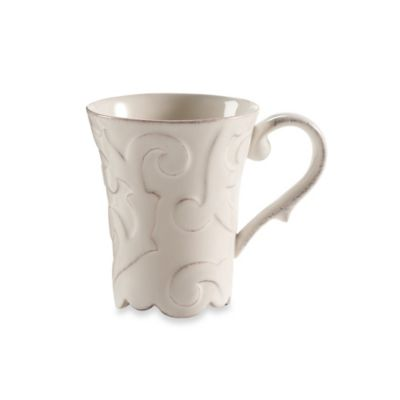 Arabesque White Mug