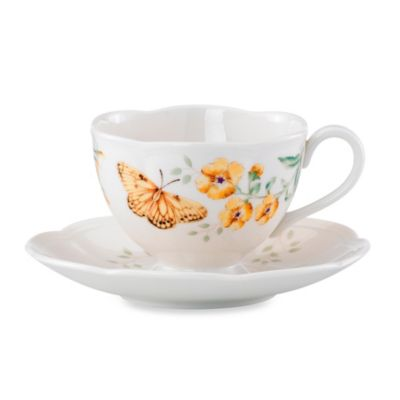 Lenox® Butterfly Meadow® Fritillary 8 oz. Cup and Saucer Set