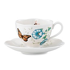 Lenox® Butterfly Meadow® Monarch Cup and Saucer Set