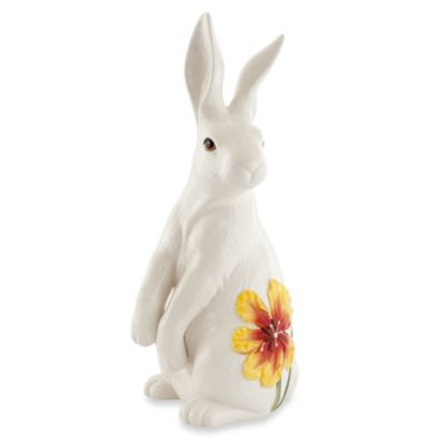 Fitz and Floyd® Flower Market White Rabbit Figurine