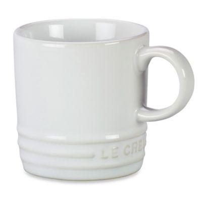 Le Creuset® 3.5-Ounce Espresso Mug in White