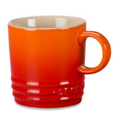 Le Creuset® 3.5-Ounce Espresso Mug in Flame
