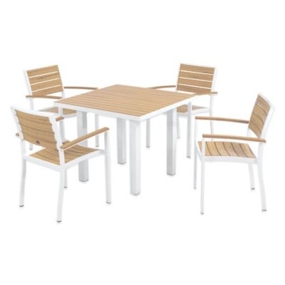Plastique 5-Piece Dining Set