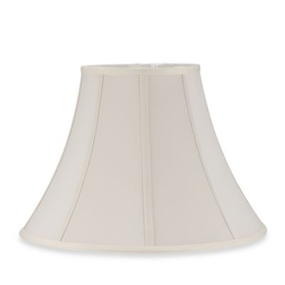 Mix & Match Large 17-Inch Softback Bell Lamp Shade in Antique Ivory