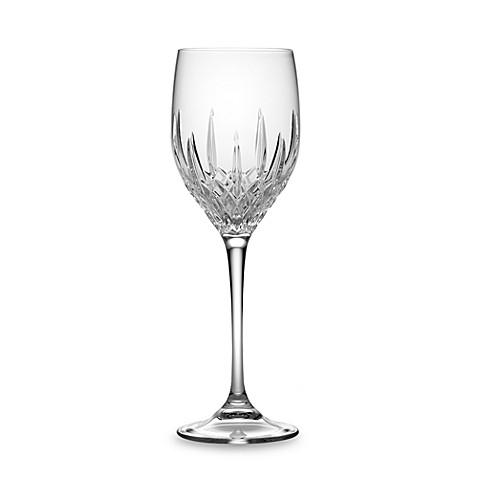 Vera wang wedgwood fidelity 10 ounce wine glass bed bath beyond - Vera wang stemware ...