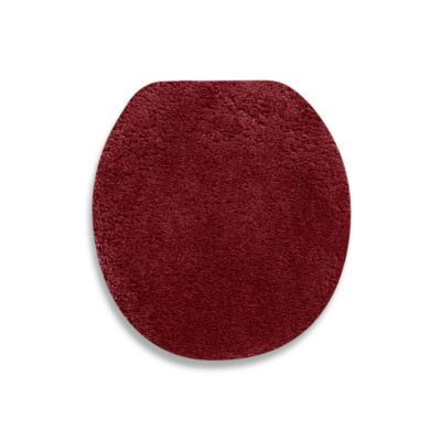 Wamsutta® Perfect Soft Universal Toilet Lid Cover in Deep Red