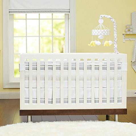 Just Born Safe Sleep Collection Crib Bedding in Grey