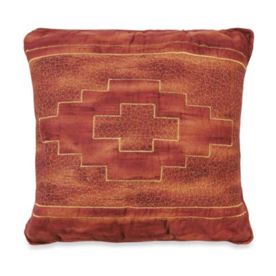 Donna Sharp Red Desert Square Decorative Pillow