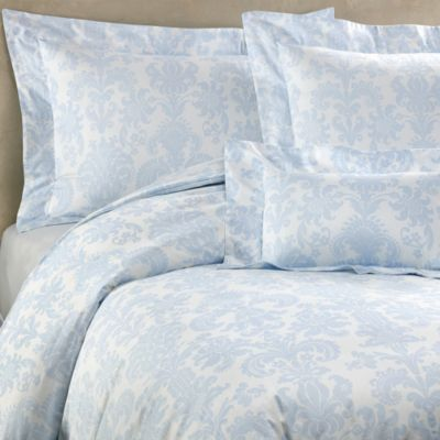 Bellino Fine Linens® Trevi Queen Duvet Cover in Sky Blue