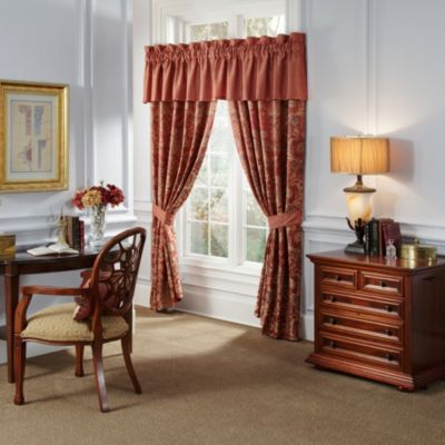 Waterford® Linens Hamilton Tailored Window Valance