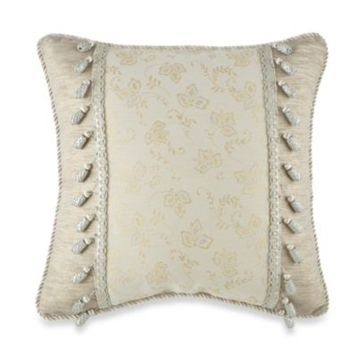 Waterford® Linens Lysander Print Square Throw Pillow