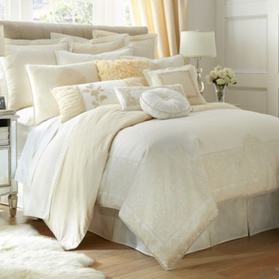 Waterford® Linens Innisfree Queen Reversible Duvet Cover