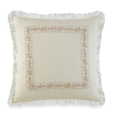 Waterford® Linens Innisfree 16-Inch Square Throw Pillow