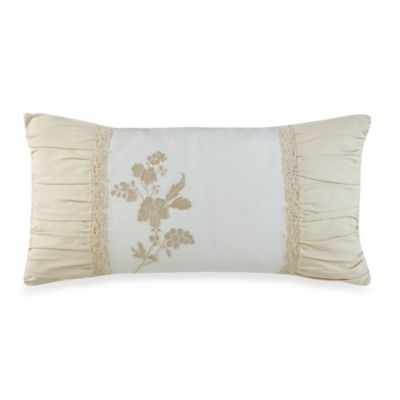 Waterford® Linens Innisfree Oblong Throw Pillow