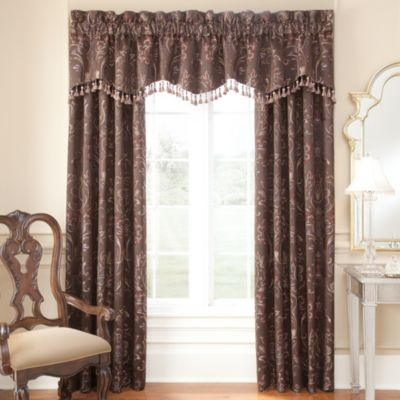 Waterford® Linens Lansing Pole Top 84-Inch Window Panel