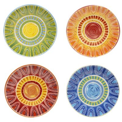 Certified International Tapas 11.25-Inch Dinner Plate (Set of 4)