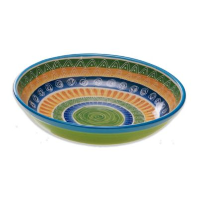 Decorative Ceramic Serving Bowl