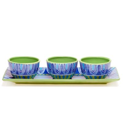 Certified International Tapas 4-Piece Serving Set