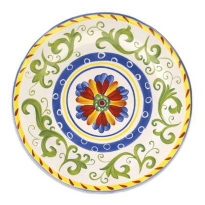 Certified International Amalfi Round Platter