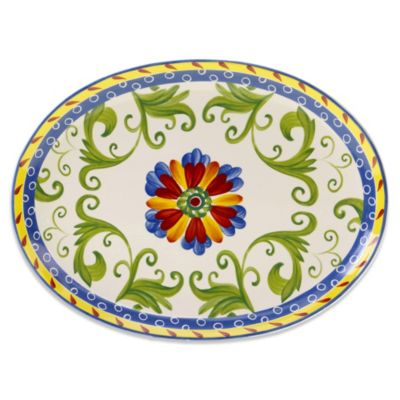 Certified International Amalfi Oval Platter