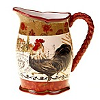 Certified International Tuscan Rooster 3-Quart Pitcher