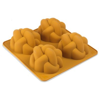 The Kosher Cook Royal Challah Challettes Silicone Bread Pan