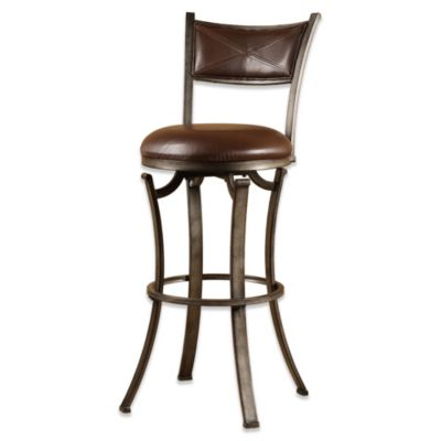 Hillsdale Drummond 26-Inch Swivel Counter Stool