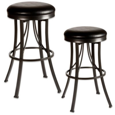 Hillsdale Ontario 26-Inch Backless Swivel Counter Stool