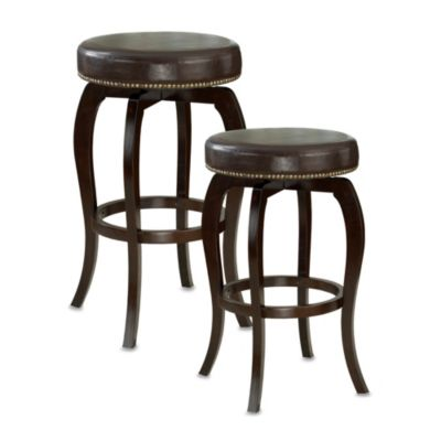 Hillsdale Wilmington 31-Inch Backless Swivel Barstool