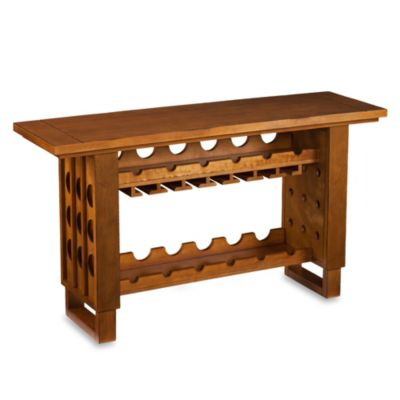 Southern Enterprises Riddling Wine Console