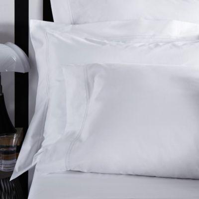 Frette At Home Tiber King Pillowcase in White