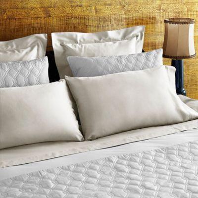 Frette At Home Tiber King Pillowcase in Ivory